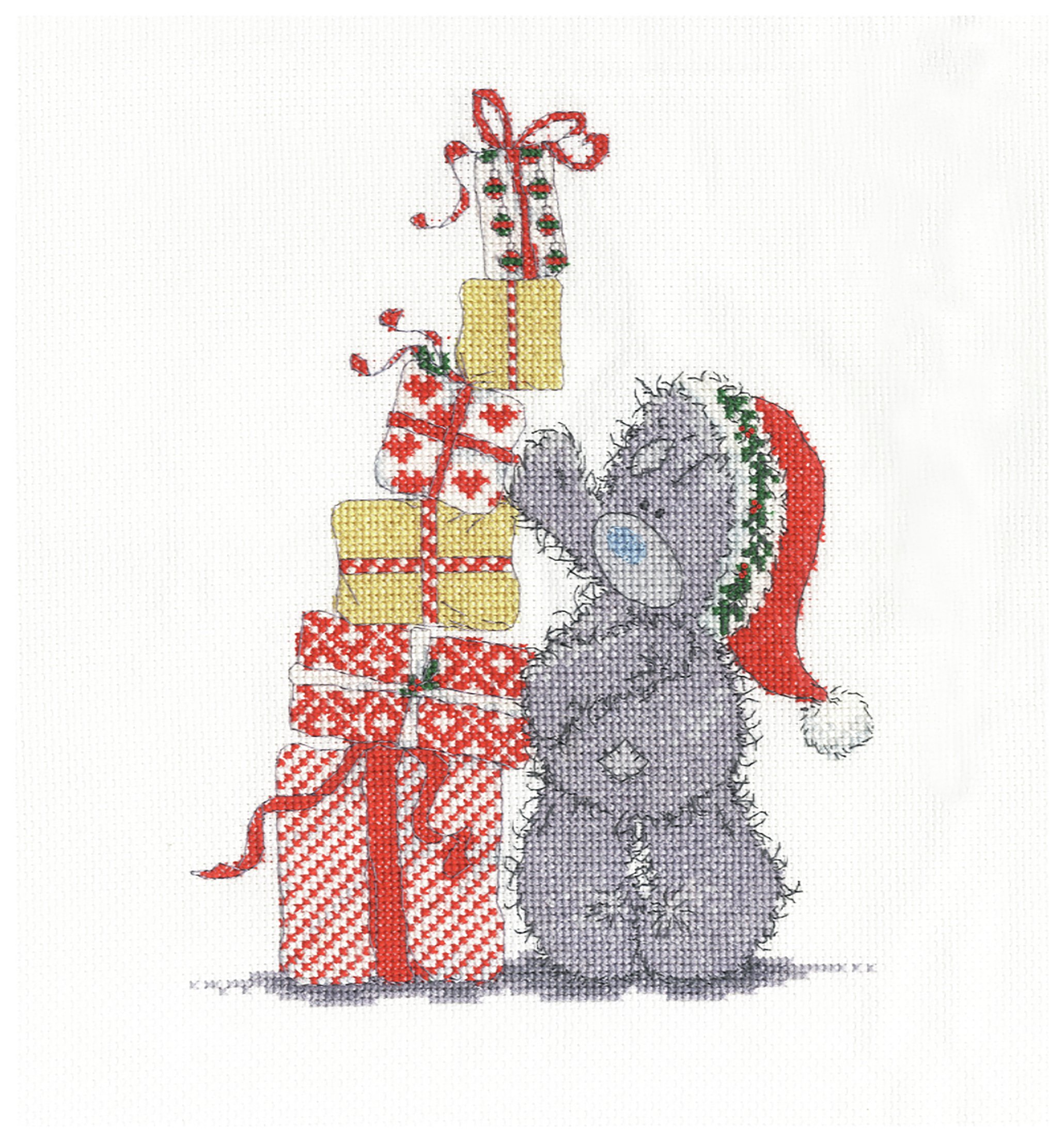 Me to You - Christmas Presents - Cross Stitch Kit lowest price