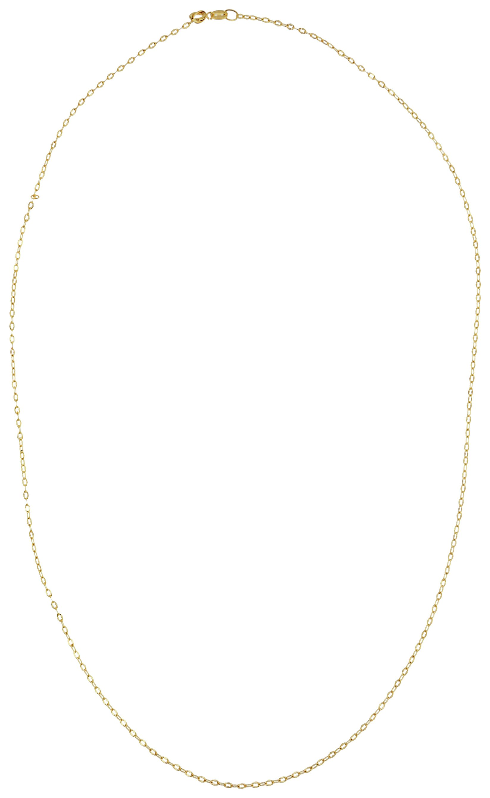 Image of 9 Carat Gold - Solid Look Forzatina Chain.
