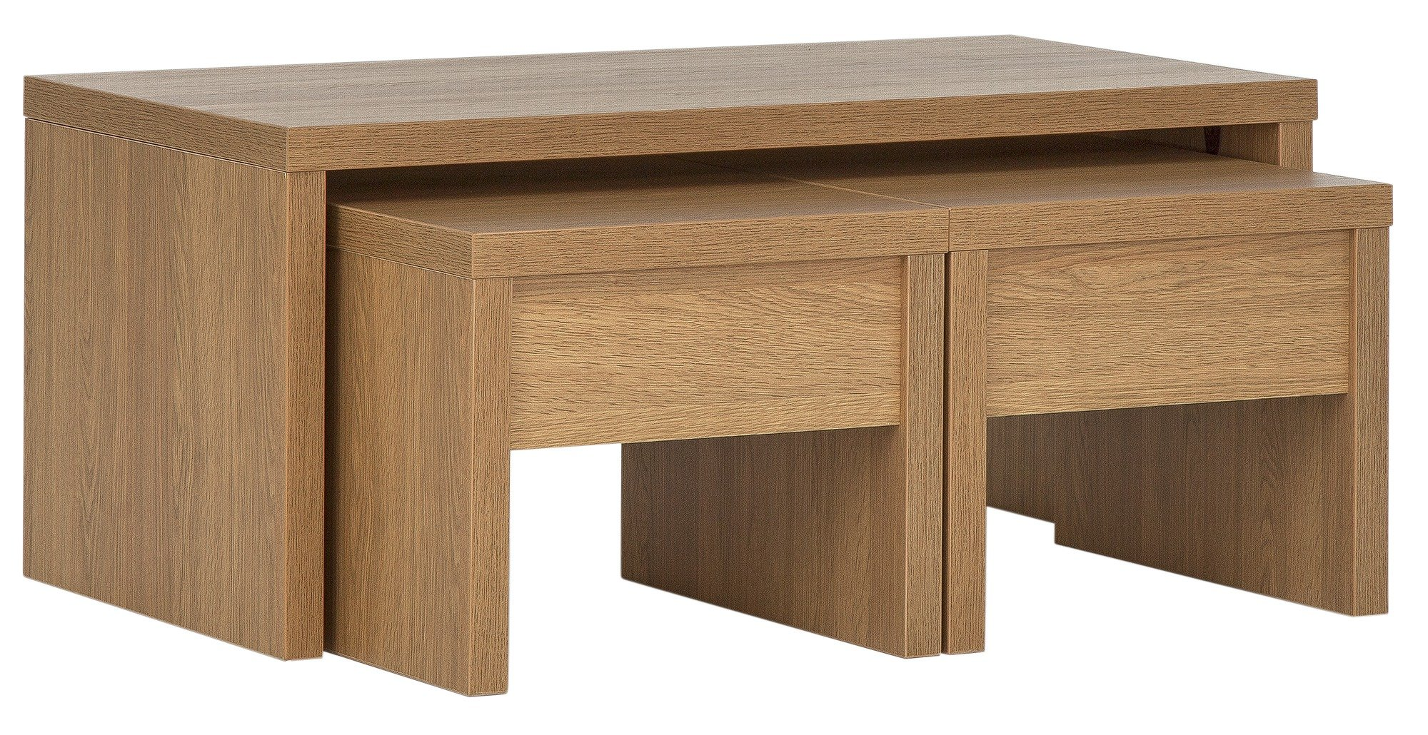 Image of Collection - Coffee Table with Nest of 2 Tables