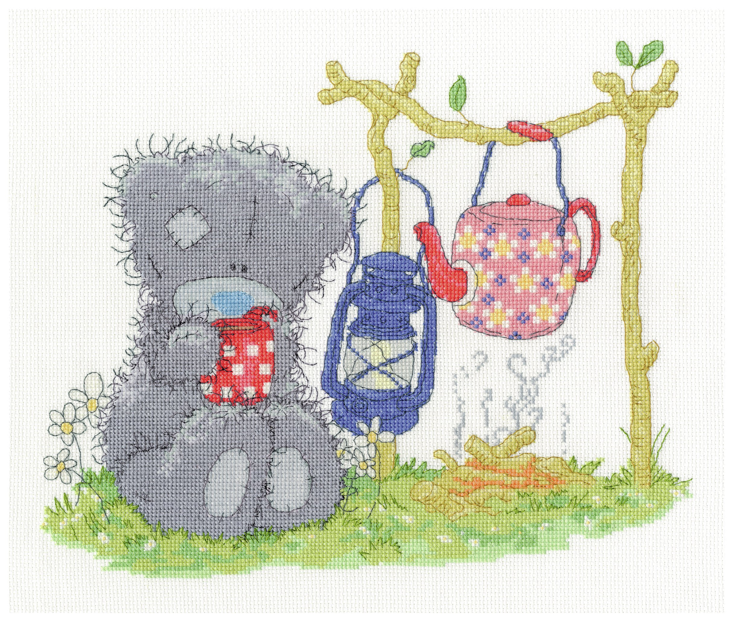 Me to You - Camping - Cross Stitch Kit lowest price