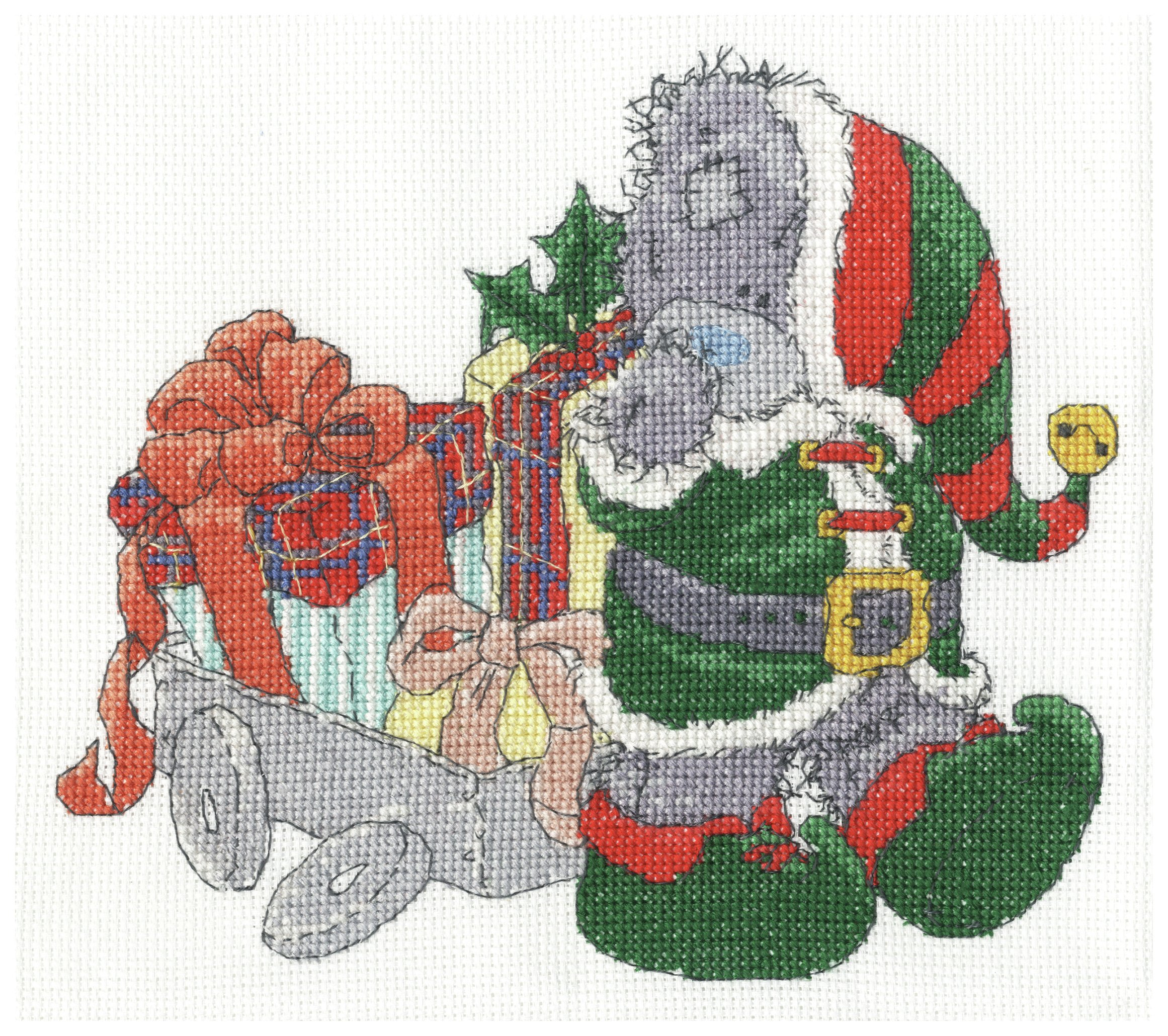 Me to You - Delivering Christmas Gifts - Cross Stitch Kit lowest price