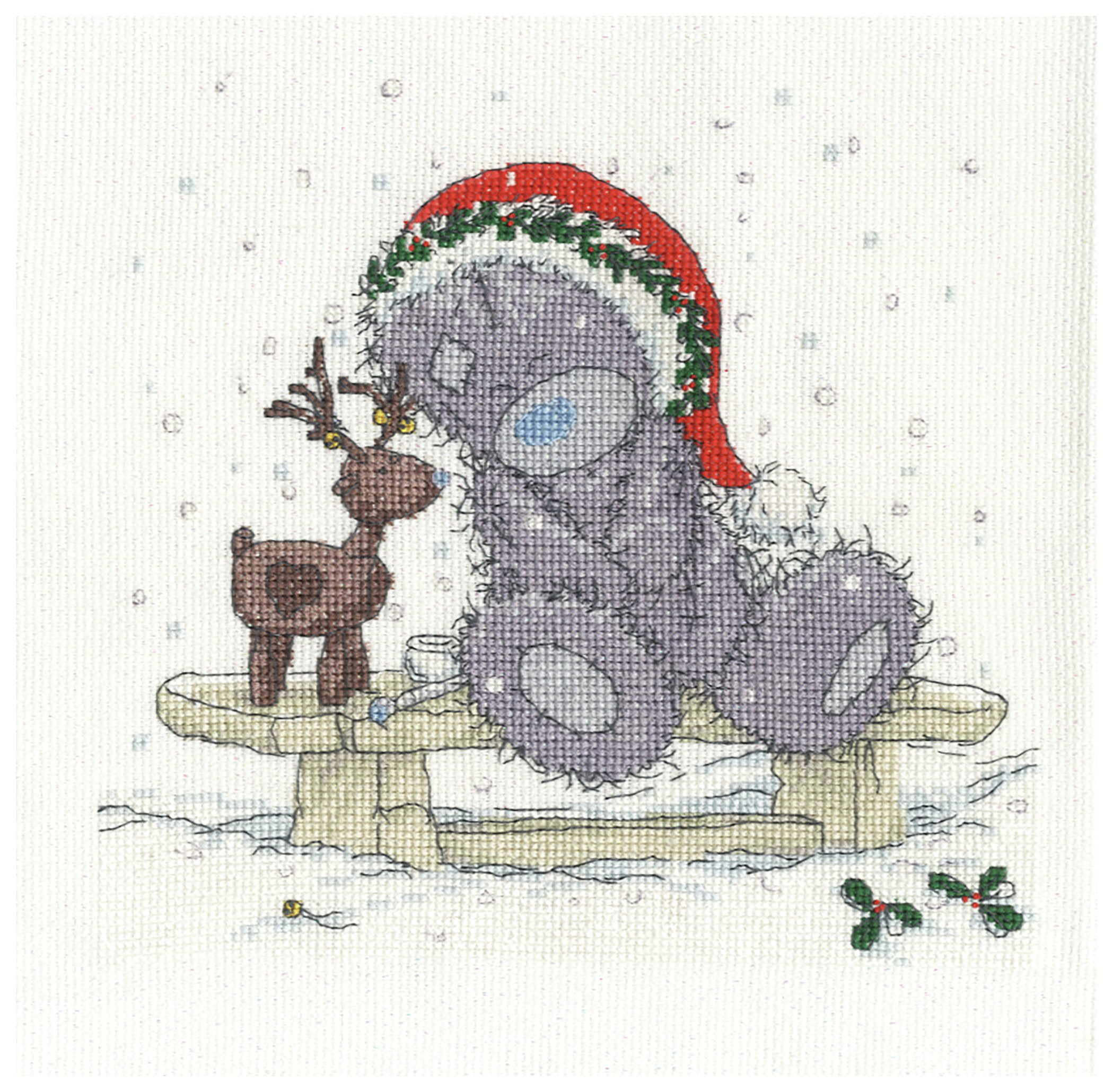 Me to You - Friends in the Snow - Cross Stitch Kit lowest price