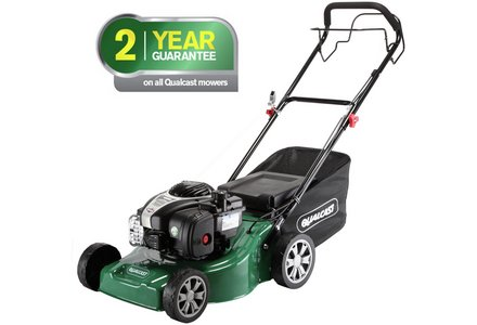 Image of the Qualcast 41cm Wide Self-Propelled Petrol Lawnmower - 125Cc.