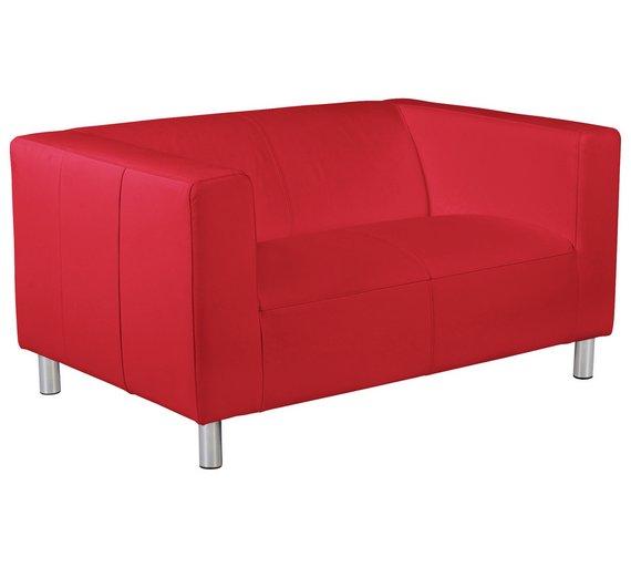 buy colourmatch moda compact 2 seater fabric sofa poppy. Black Bedroom Furniture Sets. Home Design Ideas