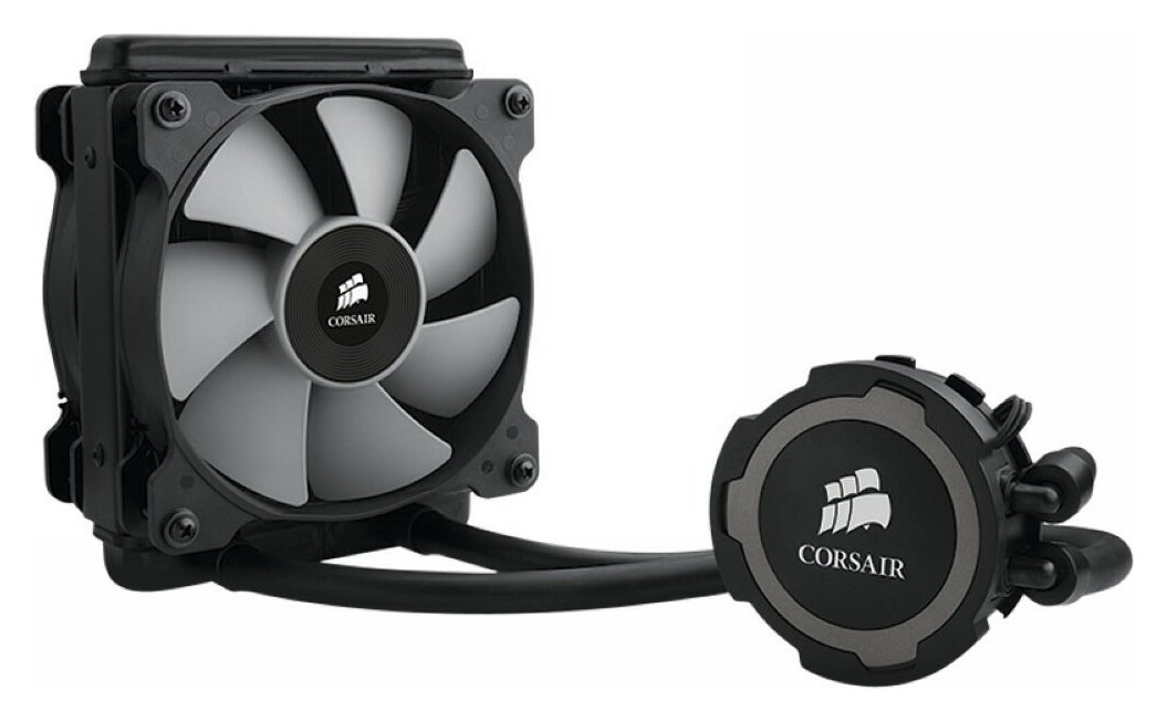 Image of Corsair Hydro Series H75 Liquid CPU Cooler.