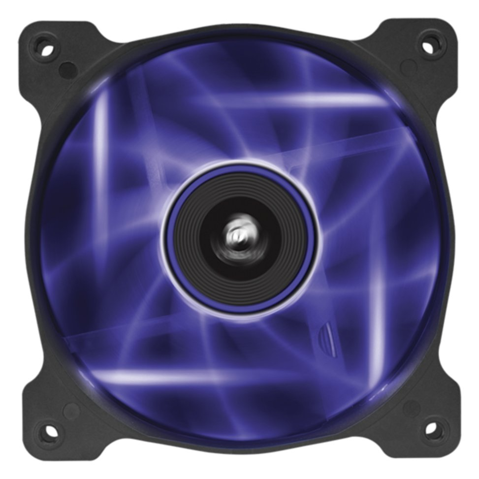 Image of Corsair AF120 LED Purple 120mm Cooler Fan - Dual Pack