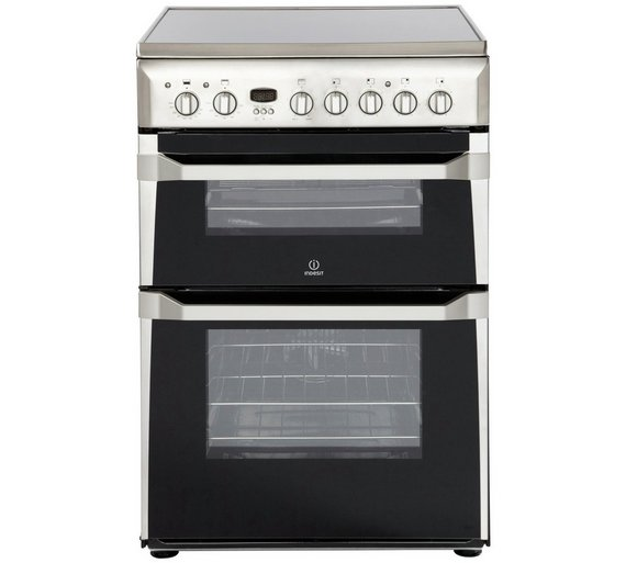 buy indesit id60c2x s freestanding cooker s steel at. Black Bedroom Furniture Sets. Home Design Ideas