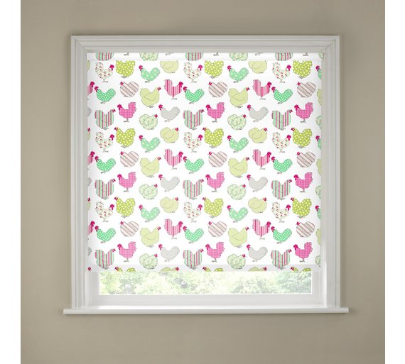 Kitchen Curtains chicken kitchen curtains : Buy 2ft Chicken Kitchen Roller Blind at Argos.co.uk - Your Online ...
