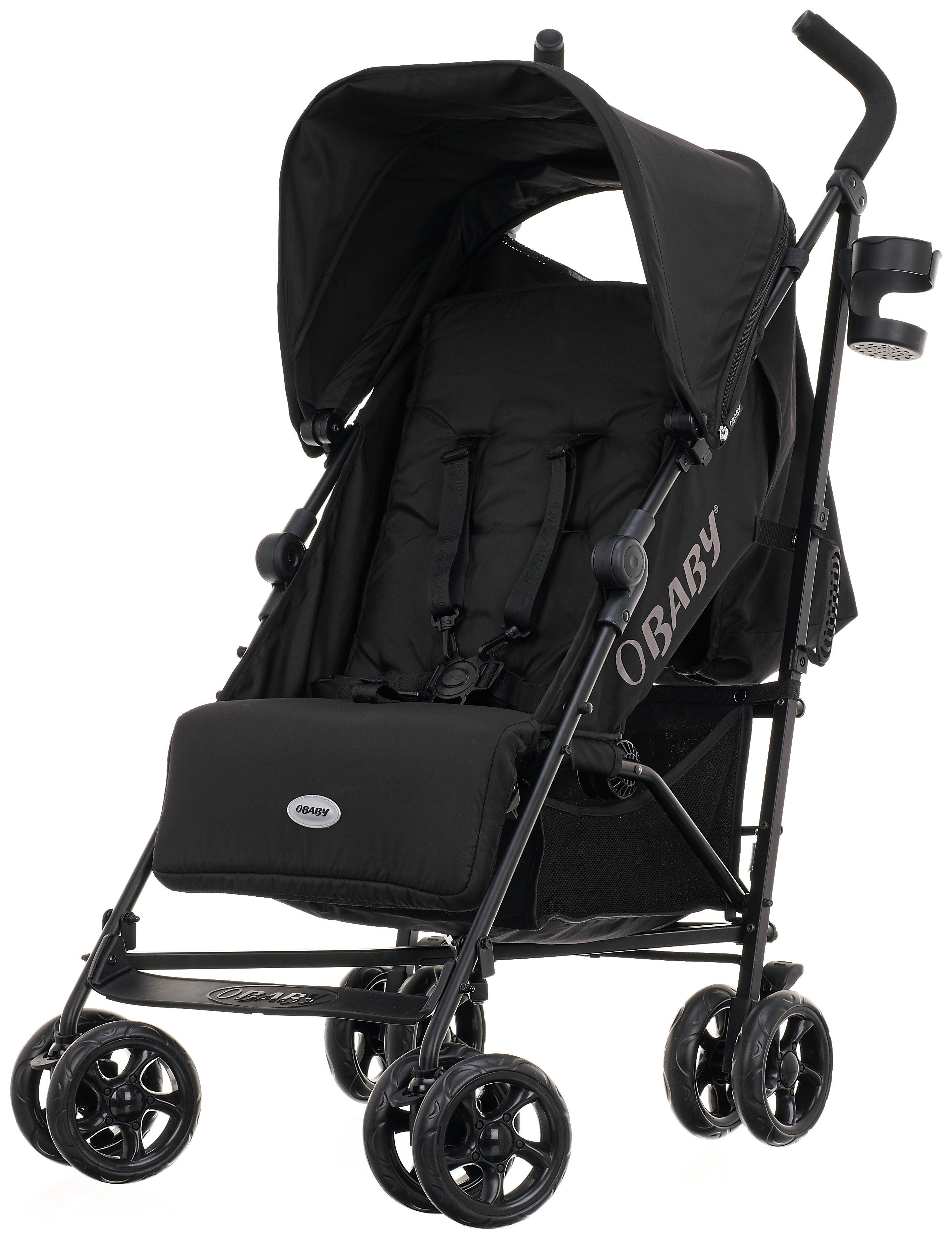 obaby-zeal-stroller-black