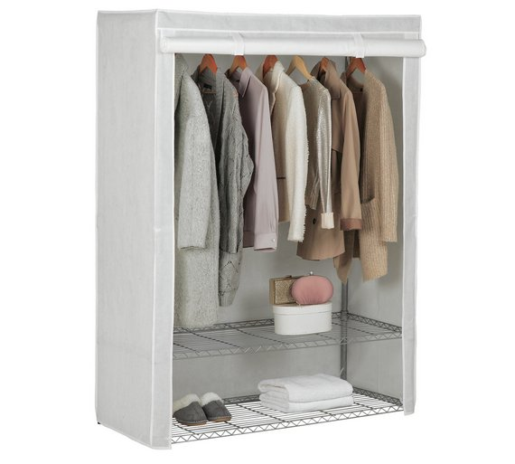 Buy HOME Double Heavy Duty Wardrobe