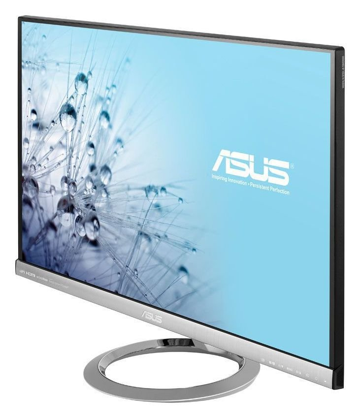 Image of Asus 27 Inch IPS Monitor with Speakers - Silver