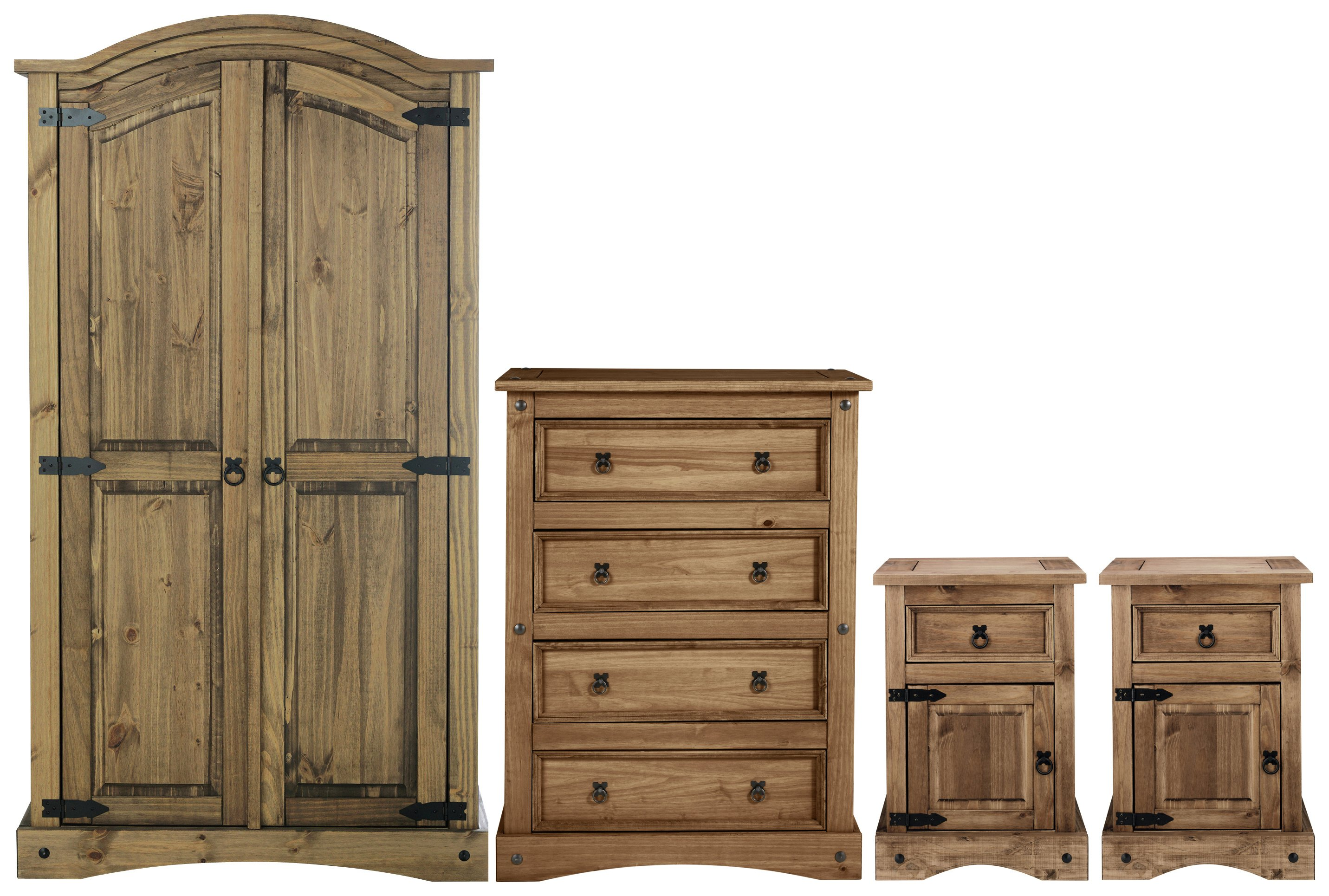 Sale On Argos Home Puerto Rico 4 Pc 2 Dr Wardrobe Package