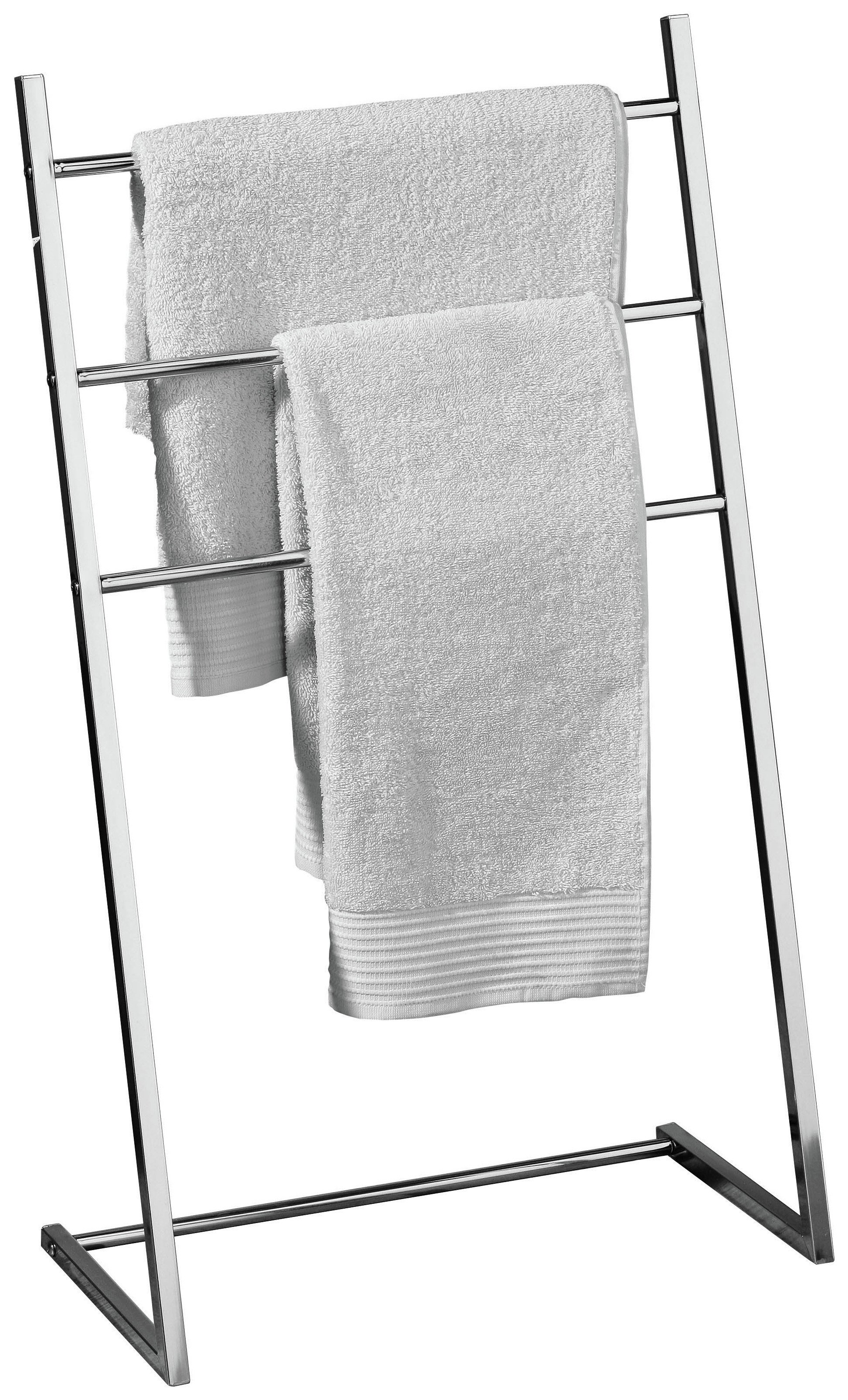 Buy Premier Housewares 3 Arm Freestanding Towel Stand Chrome