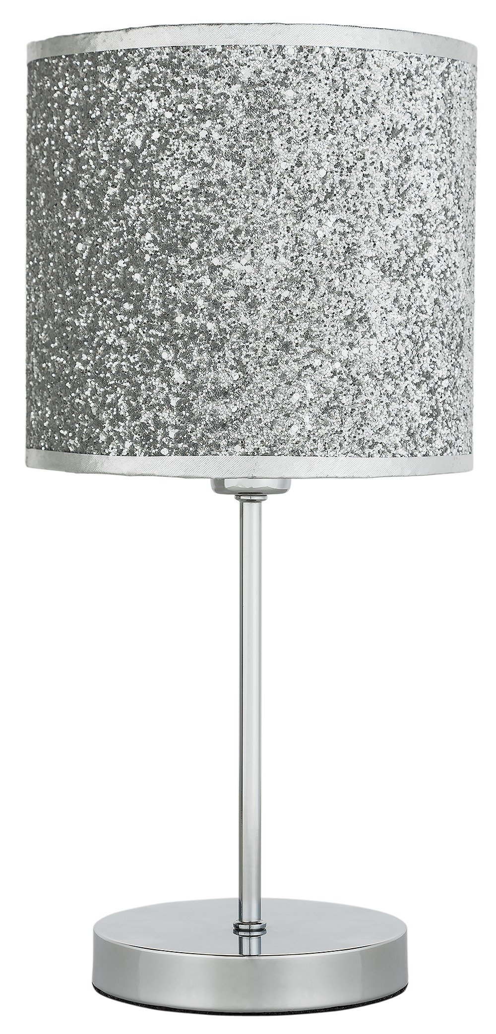 Modern black and silver ceramic pebbles table lamp haysoms - Home Sparkling Table Lamp Silver
