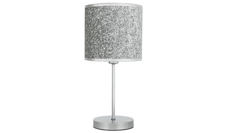 Buy Argos Home Sparkling Table Lamp Silver Table Lamps Argos