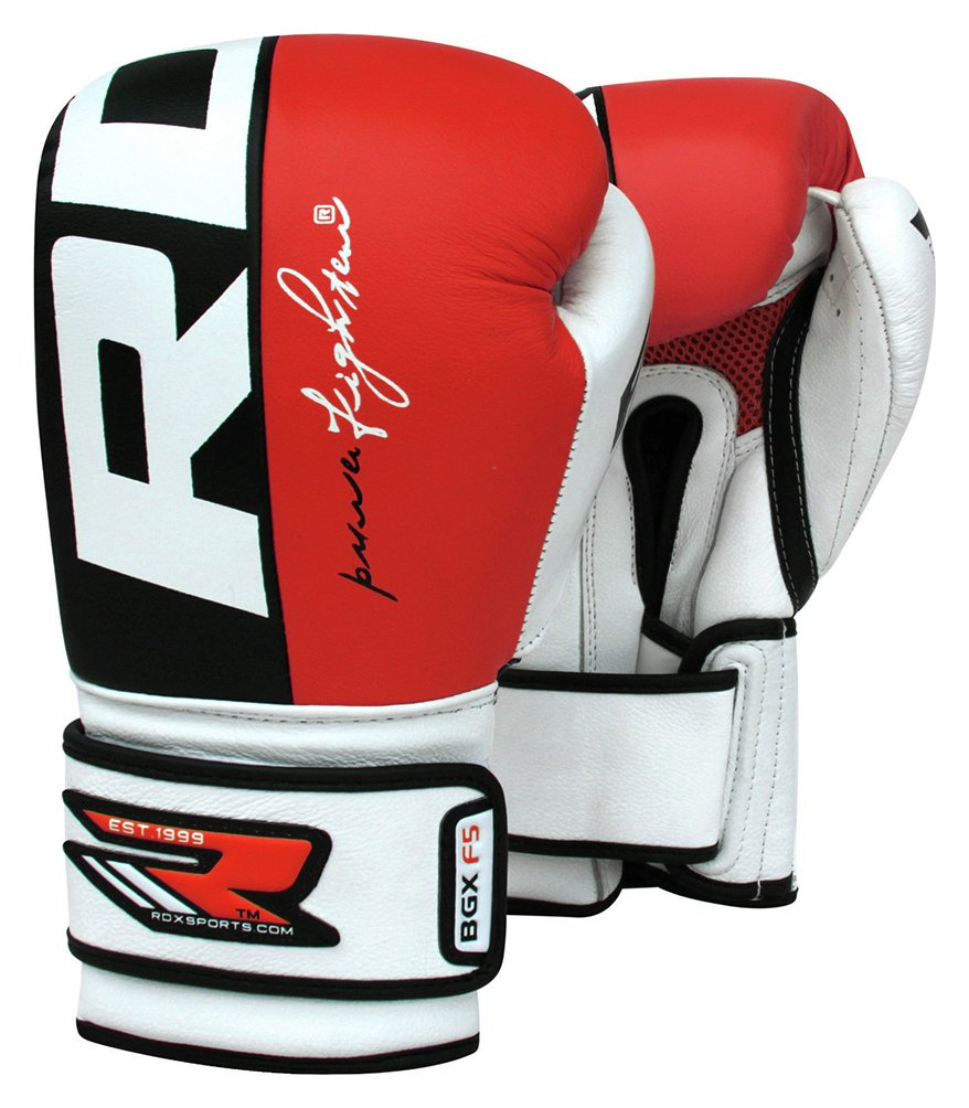 Driving gloves argos - Rdx Leather Gel Boxing 14oz Red