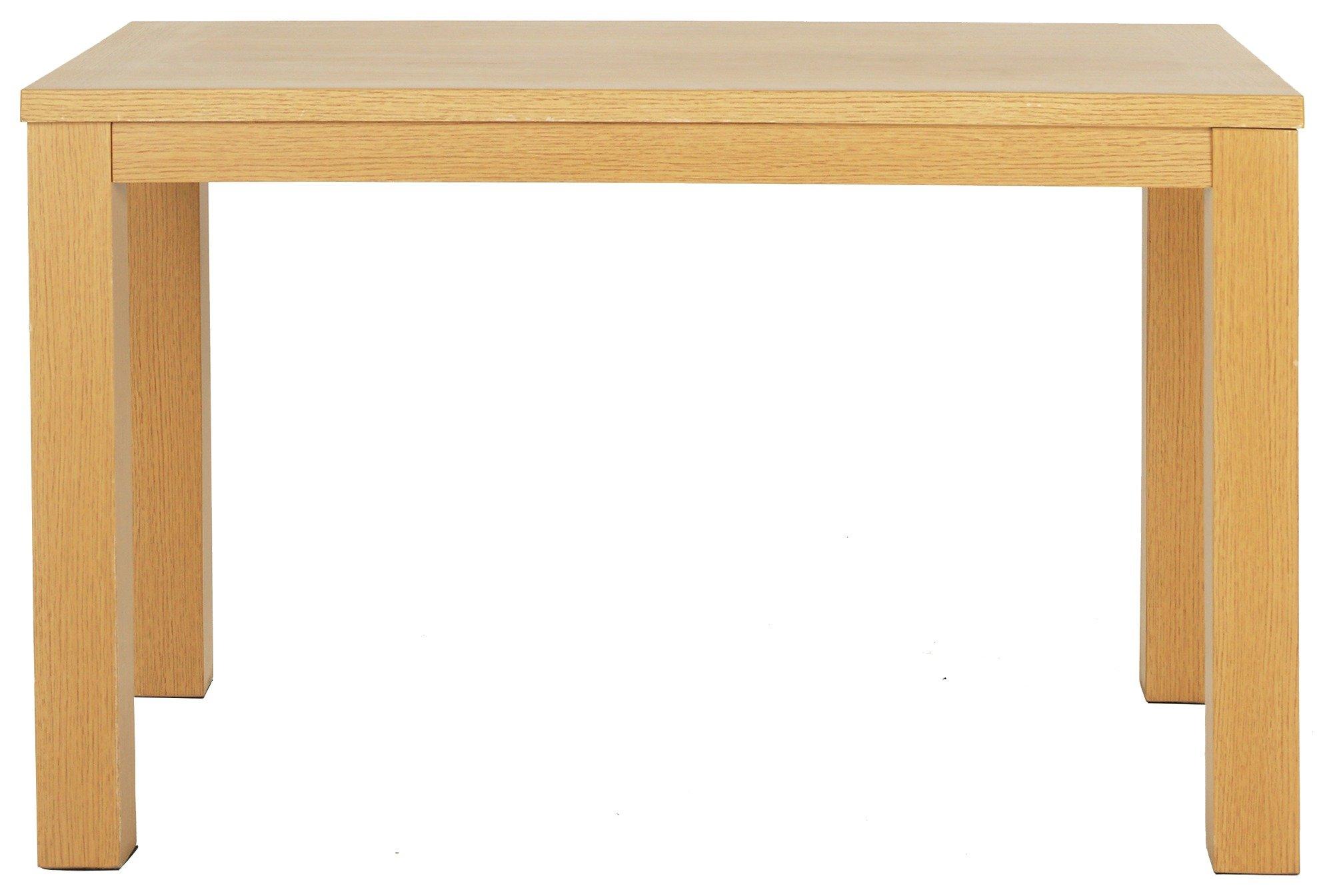 Image of HOME - Pemberton 120cm Oak Veneer - Dining Table