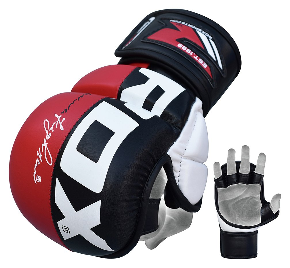 Driving gloves argos - Rdx Synthetic Leather Mma Grap Gloves Medium Large