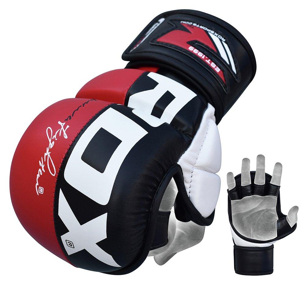 White apron argos - Rdx Synthetic Leather Mma Grap Gloves Medium Large
