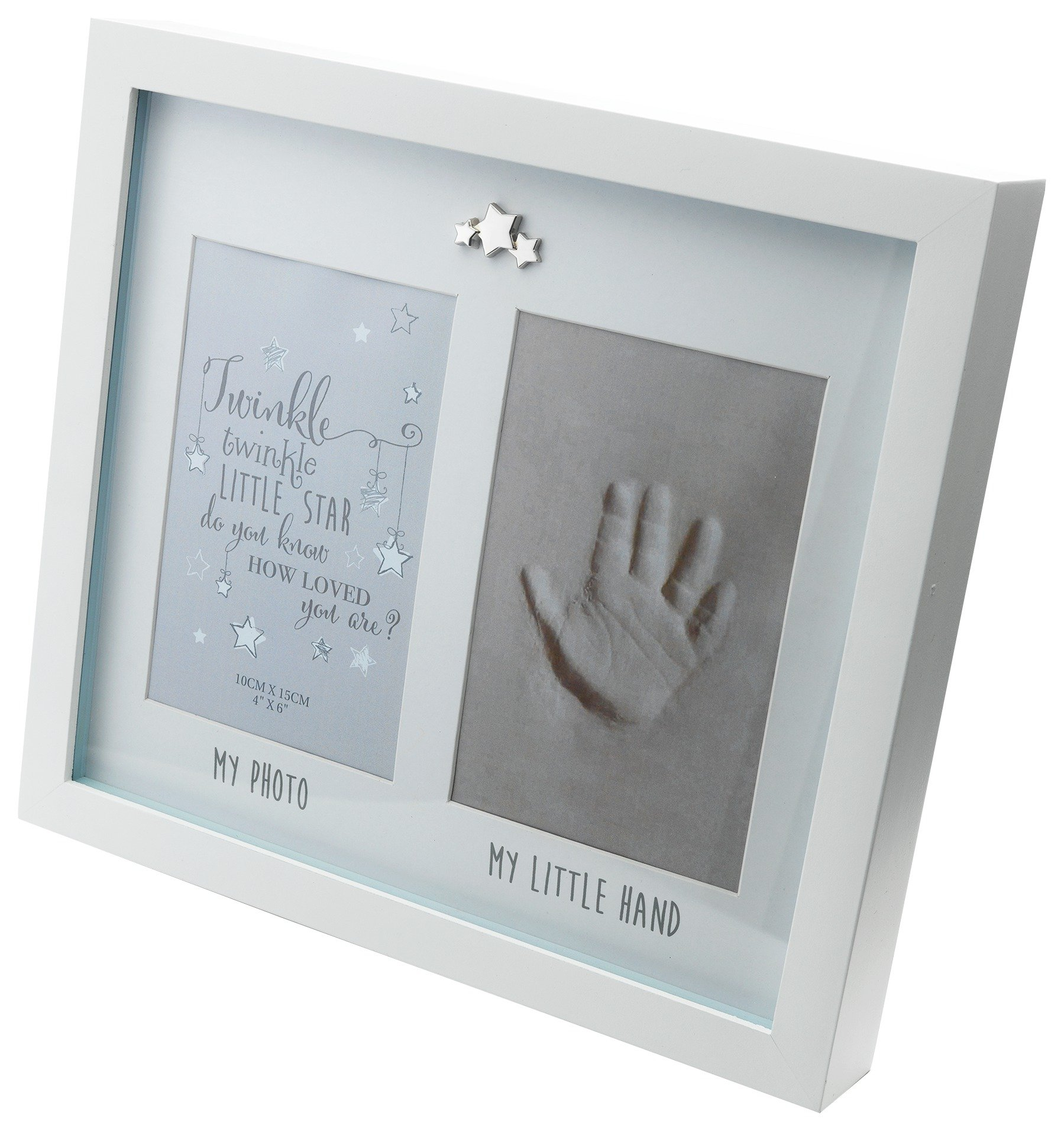 Image of Little Star Photo and Hand Print Frame