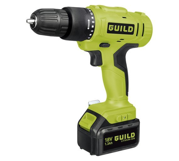 Image of Guild - 13AH Li-On Hammer Drill - 18V