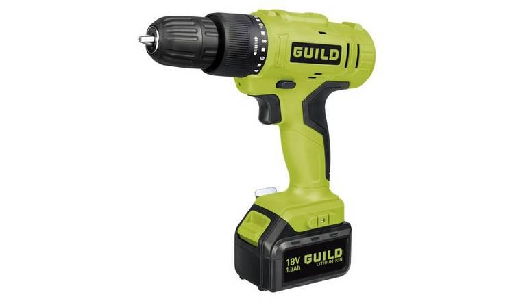 Guild 1.3Ah Cordless Hammer Drill - 18V 0