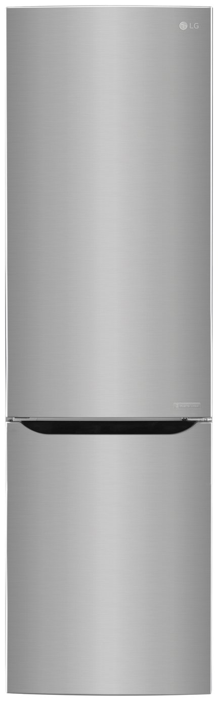 LG GBB60PZJZS Fridge Freezer - Stainless Steel.