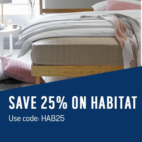 Save 25% on Habitat. Use code: HAB25.