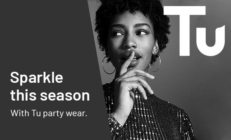 Sparkle this season with Tu party wear.