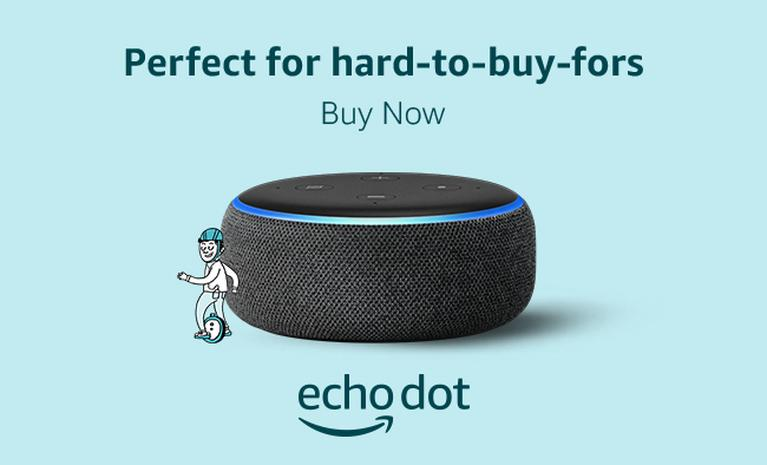 Amazon Alexa Echo Dot.