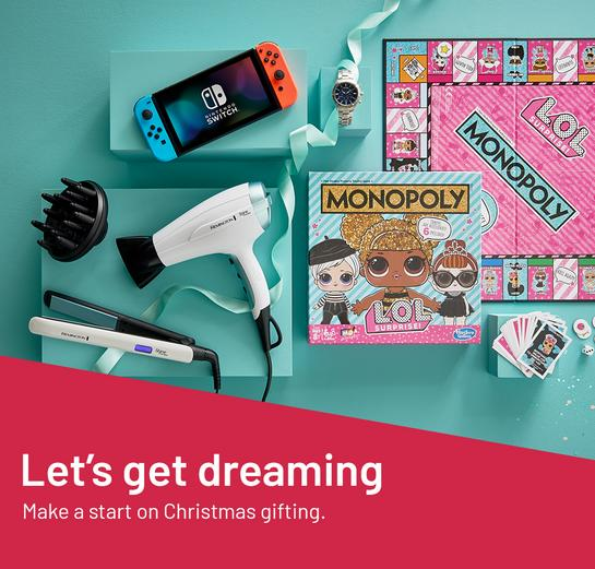 Let's get dreaming. Make a start on Christmas gifting.