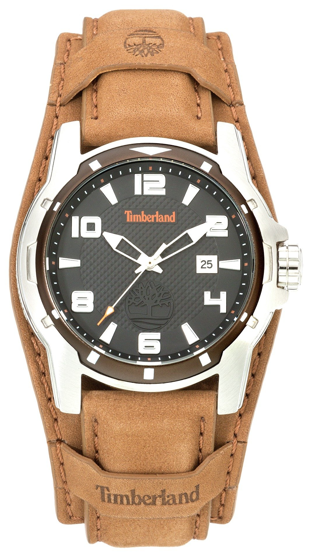 TIMBERLAND - MENS DURHAM BLACK DIAL LEATHER STRAP - WATCH