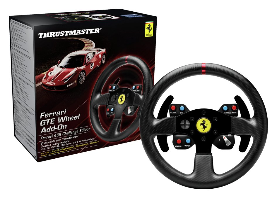 Guillemot Guillemot - Thrustmaster Ferrari GTE F458 Steering Wheel