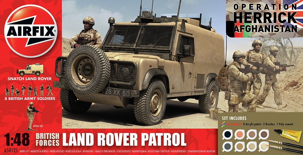 Image of Airfix - British Forces Patrol and Support Group 1:48 Model