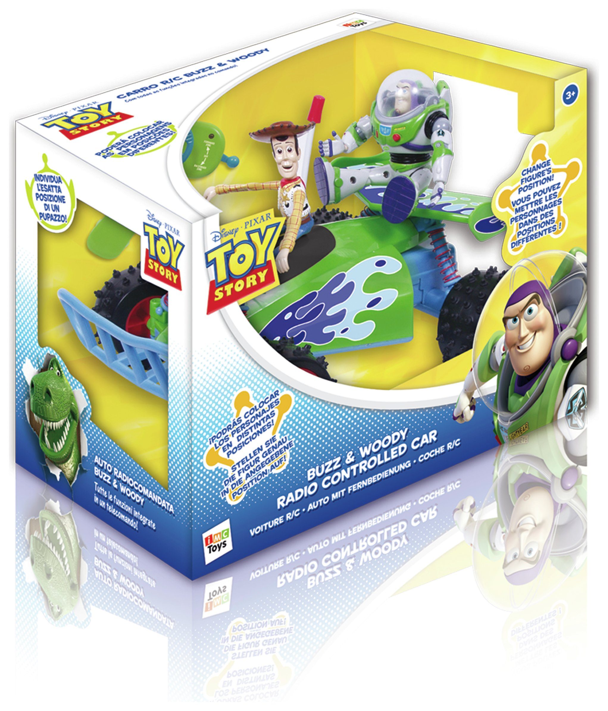 Image of Toy Story Remote Control Car.