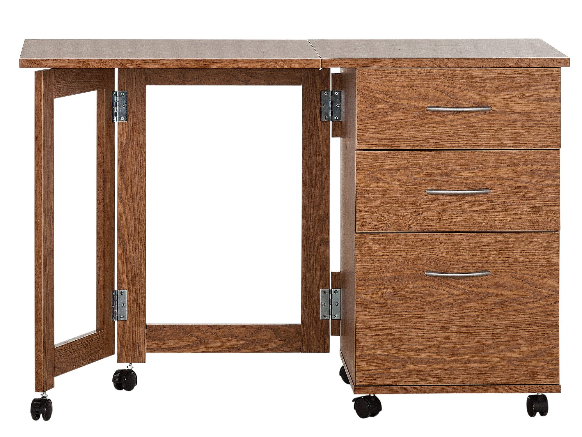 space saving office desk. home dino 2 drawer space saving office desk oak effect a