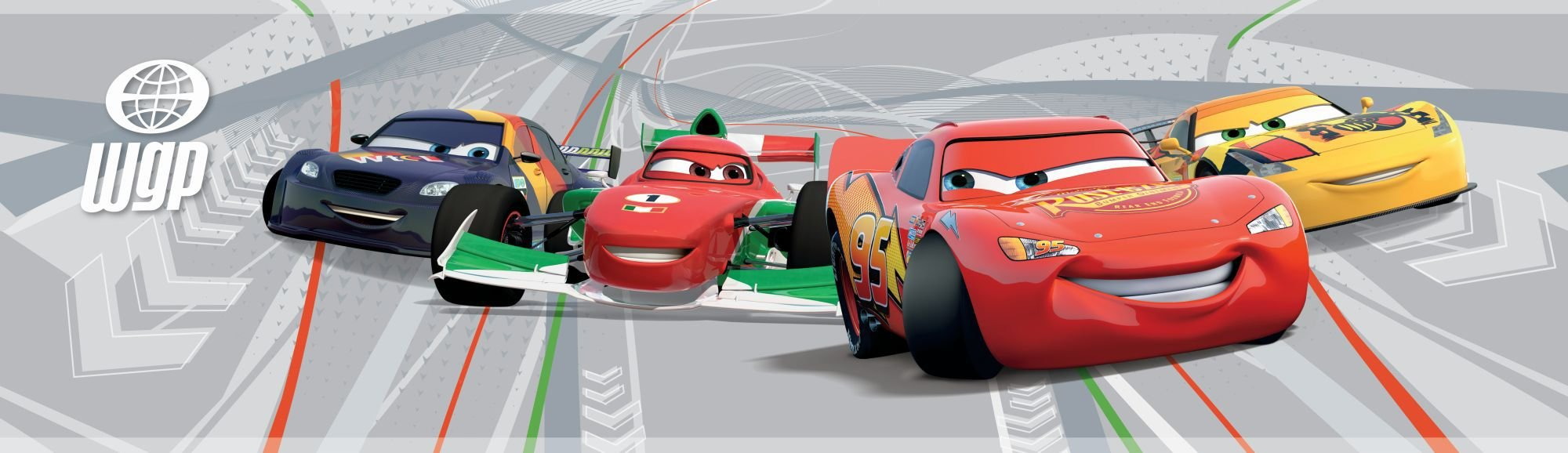 Disney Cars 2 Border.