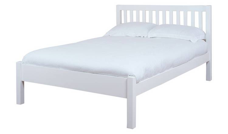 Silentnight Hayes Double Bed Frame - White