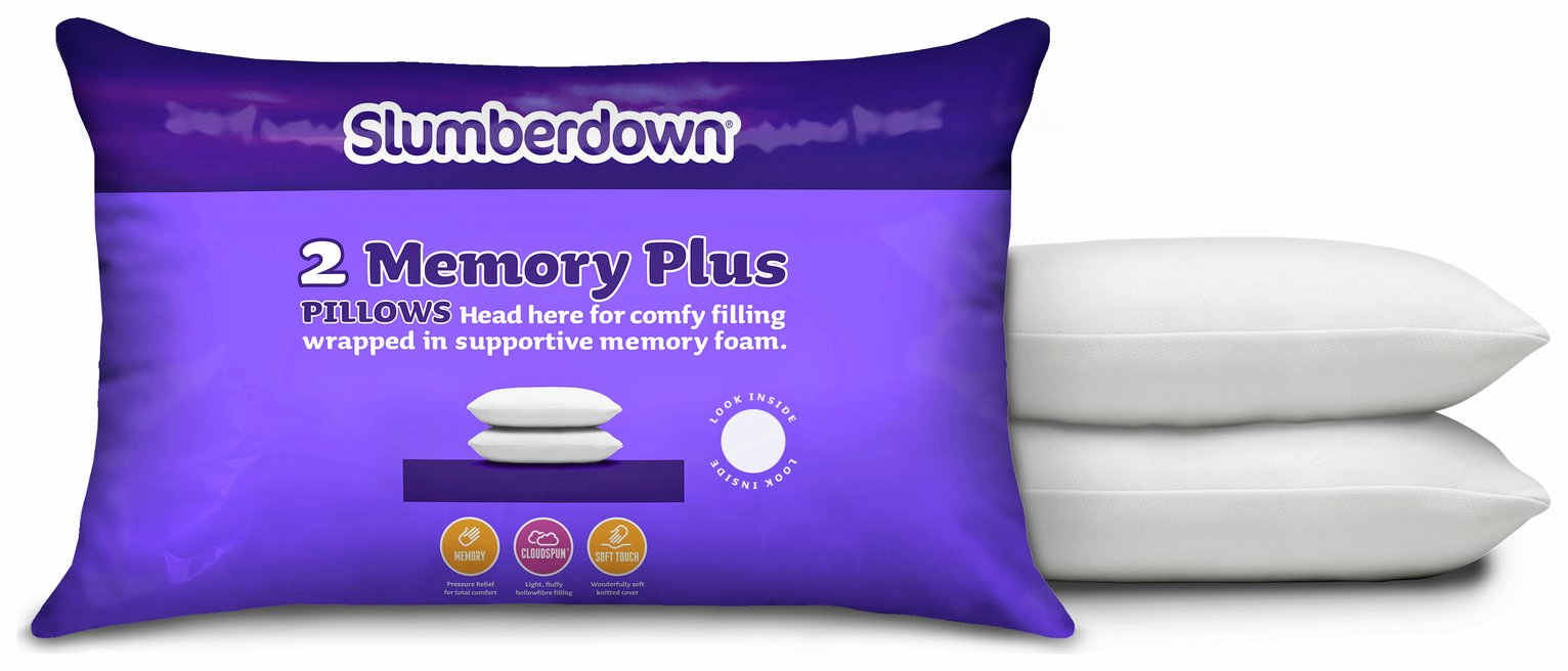 New Slumberdown Memory Foam Pillow in