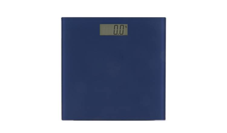 Argos Home Electronic Bathroom Scales - Navy