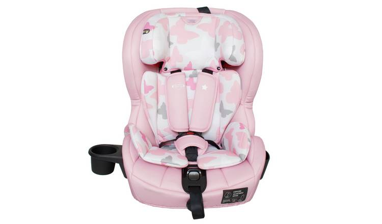 My Babiie Group 1/2/3 Car Seat - Pink
