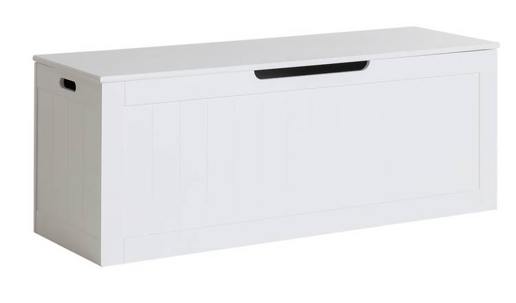 Argos Home Marston XL Shaker Blanket Box - White
