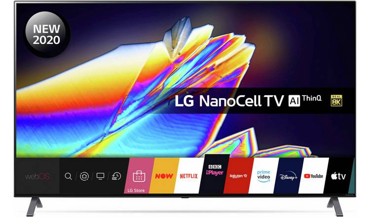 LG 65 In NANO956NA 8K Smart UHD Nanocell HDR Freeview TV