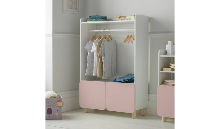 Argos Home Milo Dressing Rail - Pink