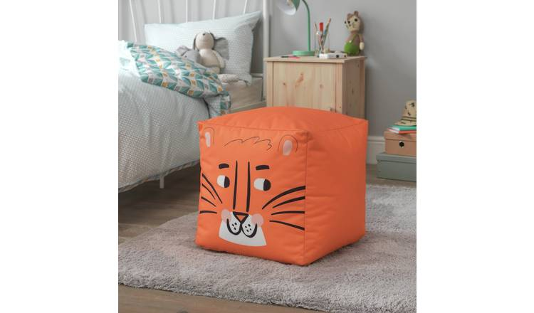 Argos Home Cube Tiger Bean Bag