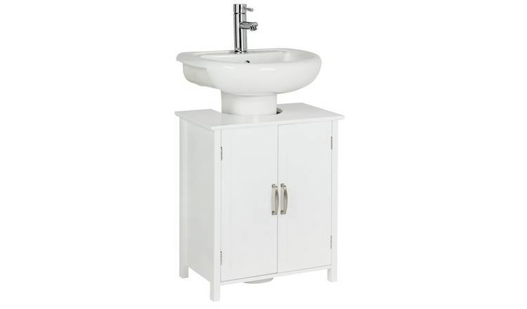 Argos Home Tongue & Groove Under Sink Unit - White