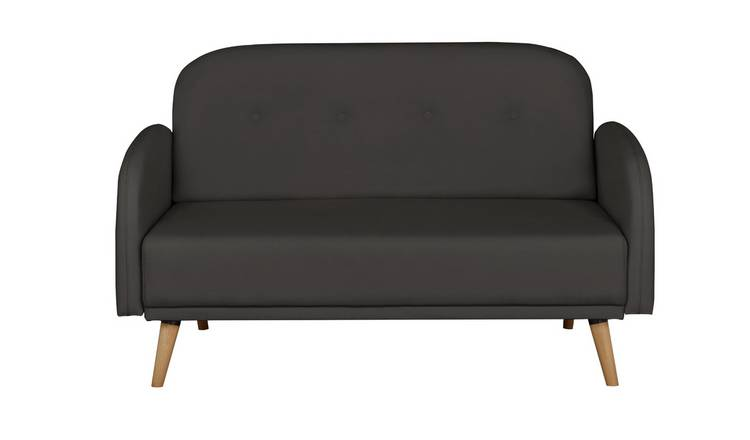 Argos Home Jemima 2 Seater Fabric Sofa in a Box - Charcoal