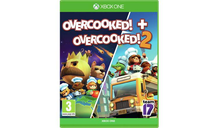 Overcooked! & Overcooked! 2 Xbox One Game Double Pack