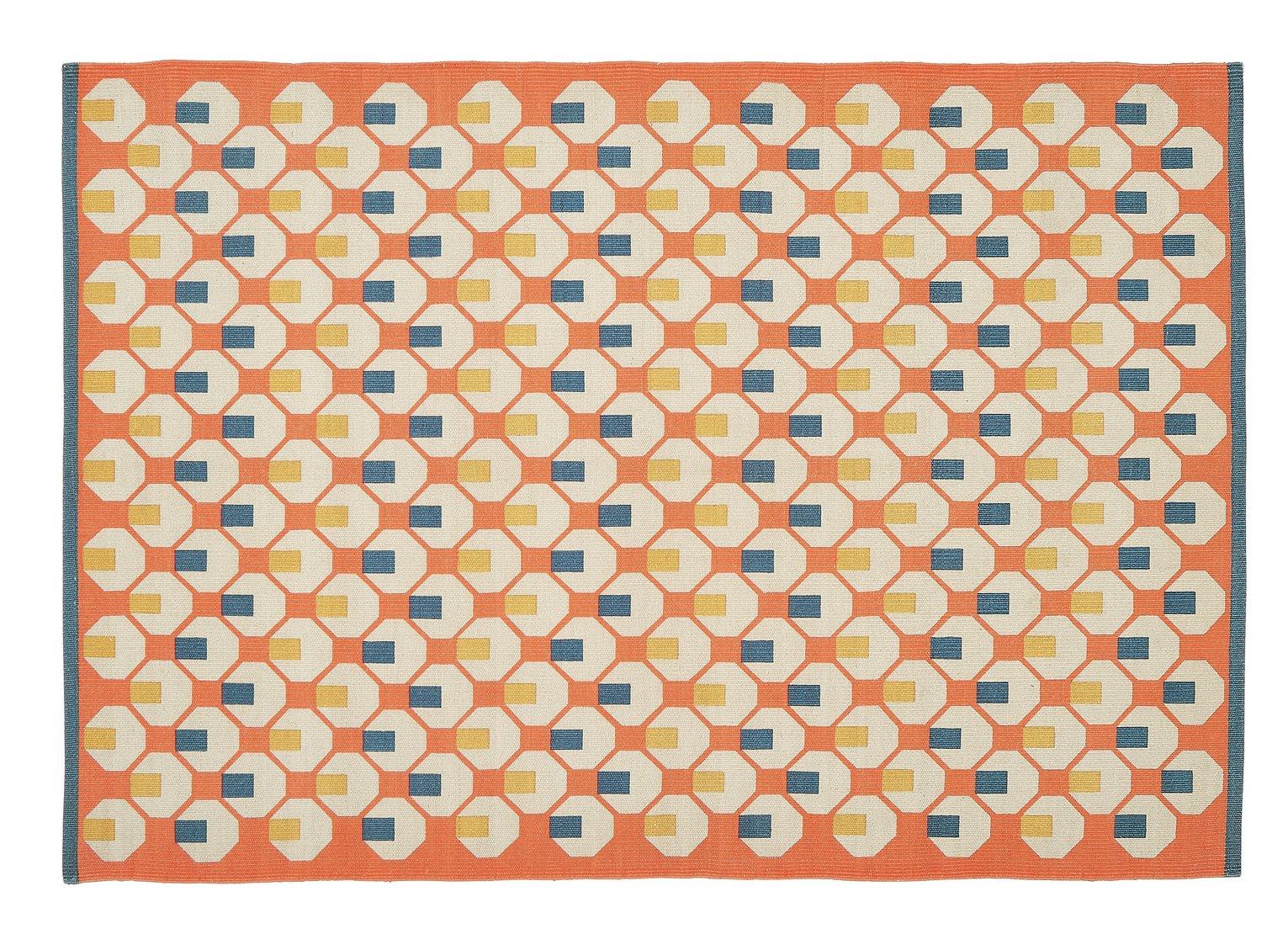 Habitat Octo Rug - 80x130cm - Orange