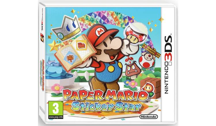 Paper Mario: Sticker Star Nintendo Selects 3DS Game